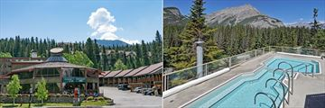 Inns of Banff, Exterior and Pool