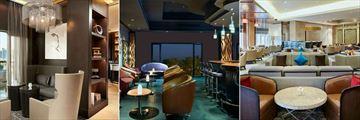 InterContinental - Qatar, La Vue, Lava Lounge and Tea Lounge