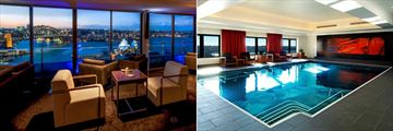 Club International and the Indoor Pool at Intercontinental Sydney