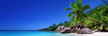 Island hopping in the Seychelles