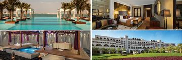 Jumerirah Zabeel Saray; Infinity pool, Deluxe Family Room, Hotel exterior, Talise Treatment Room