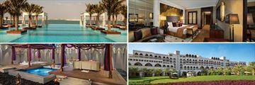 Jumerirah Zabeel Saray; Infinity pool, Deluxe Family Room, Hotel exterior, Talise Treatment Room