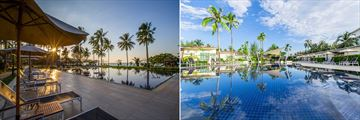 Ocean Pool and Garden Pool at Kantary Beach Khao Lak