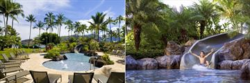 Kids Pool and Slide at Kauai Marriott Resort