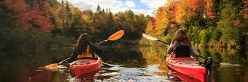 Kayaking along Prince Edward Island