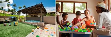 Kempinski Seychelles Resort Baie Lazare, Kids' Club Outdoor Playground, Pool and Indoor Play Area