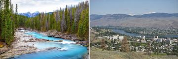 Kicking Horse River & Kamloops