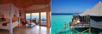 Jacuzzi Water Villa at Komandoo Island Resort & Spa