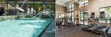 L'Hermitage Vancouver, Pool and Fitness Room