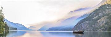 Lake Chelan at sunrise
