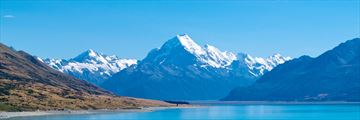 Lake Pukaki, Mt Cook