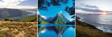 Lake Te Anau, Milford Sound & Views of the Tasman Sea