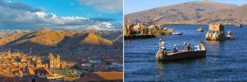 Cusco views and Lake Titicaca
