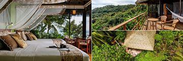 The Rainforest Bungalows at Lapa Rios Lodge