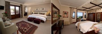 Lavender Manor Guest Lodge, Mountain Facing Suite and Sea Facing Suite