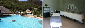 Le Domaine de La Reserve, Pool and Spa Treatment Room