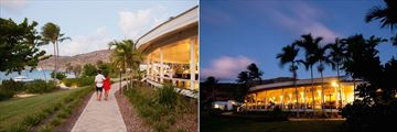 Salt Water Restaurant at Lizard Island Resort