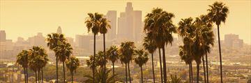 Los Angeles at dusk