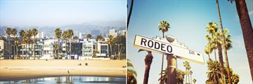 Venice Beach and Rodeo Drive