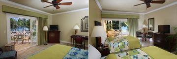Magdalena Grand Beach & Golf Resort, Deluxe Oceanfront Room and Double Oceanfront Room
