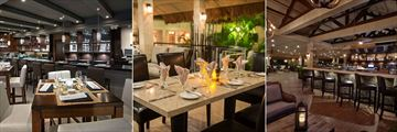The Chophouse, Ikes Bistro and Ikes Bistro Bar at Manchebo Beach Resort & Spa