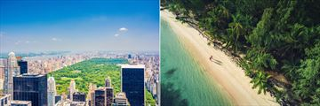 Manhattan and Punta Cana