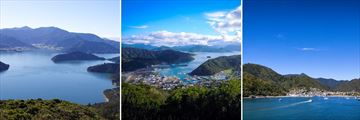 Marlborough Sounds & Picton, South Island