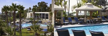 The Pool at Marriott Newport Beach Hotel & Spa