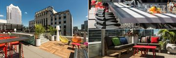 Marriott Renaissance Montreal Downtown, Rooftop Terrace, Air Rooftop Terrace Bar and Air Rooftop Terrace Lounge