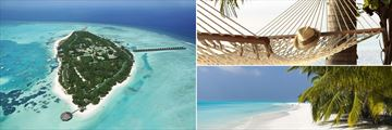 Meeru Island Resort & Spa, Aerial View and Beach