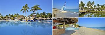 Pool, Water Activities, Lagoon, Beach and Pool Bar at Melia Las Antillas