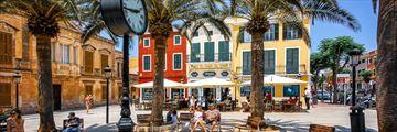 Plaza de Alfonso, Menorca
