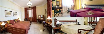 Superior Room, Standard Twin Room and Standard Double at Mercure Sevilla