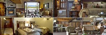 Mirror Lake Inn Resort and Spa, (clockwise from top left): Luxury Suites - Placid Living Area, Placid Bedroom, Hight Peaks and Little Whiteface