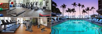 Moana Surfrider a Westin Resort, Fitness Centre and Pool