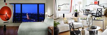 Standard Room, Studio Suite and Studio Double-Double at Mondrian