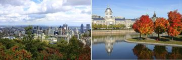 Scenery in Montreal, Quebec