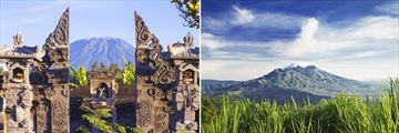 Mount Agung & Mount Batur