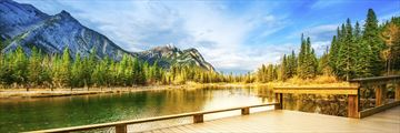Mount Lorette Ponds in Kananaskis, just west of Calgary