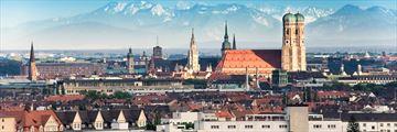 Panoramic view of Munich, Germany