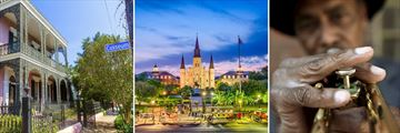 The sights and sounds of New Orleans, Louisiana