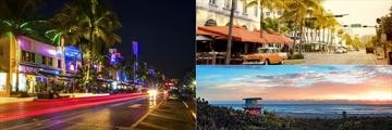 Ocean Drive and Beachfront, Miami
