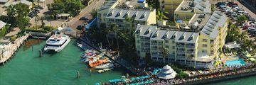 Aeriel View of Ocean Key Resort & Spa