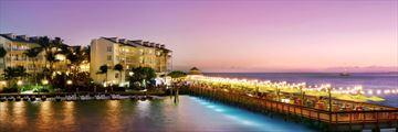 Ocean Key Resort and Spa pier at sunset