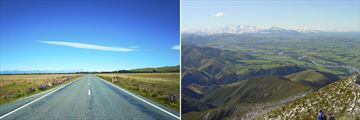 Open Mackenzie Country Roads & The luscious Canterbury Plains