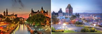 Scenery in Ottawa & Quebec City, Canada