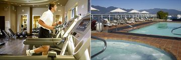 Pan Pacific, Fitness Club and Pool and Hot Tub