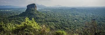 Panoramic view of Sigiriya Rock