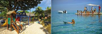 Paradis Beachcomber Golf Resort & Spa, Kids' Club Playground and Kids' Club Waterskiing