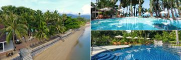 Paradise Beach Resort, Koh Samui, Beachfront, Beachfront Pool and Garden Pool